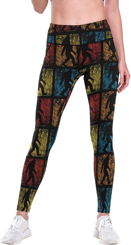 Mesh Yoga Super beauty product restock quality top! Pants Retro Bigfoot with High Nashville-Davidson Mall Pockets Believe Vintage