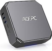Mini PC,Intel Celeron J3455 Windows 10 Pro Mini Computer, 6GB DDR3 120GB SSD HD Graphics 4K Dual Output Gigabit Ethernet D...