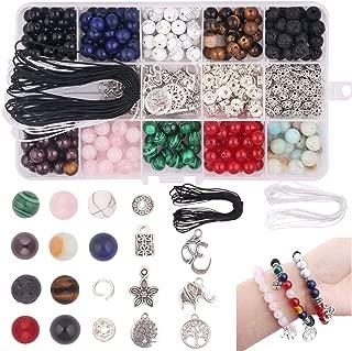 making gemstone bracelets