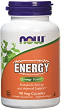Now Foods Energy - 90 vcaps 0 13 kg