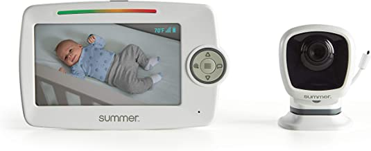 Summer Infant Summer Lookout 5.0-Inch Color Video Monitor with No-Hole PrestoMount, White