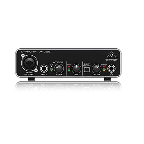 BEHRINGER audio interface UMC22