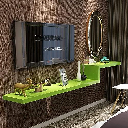 Wand-Trennwand Set-Top-Box HinterGründ Wand Regal einfache Schminktisch TV-Schrank Kombination [Vier Farben optional] 100 120 140 160 180   200cm (Farbe   D, Größe   180cm)