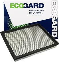 ECOGARD XA4727 Premium Engine Air Filter Fits Jeep Grand Cherokee / Nissan Frontier, Titan, Pathfinder, Xterra, Armada / Infiniti QX56 / Nissan NV2500, NV3500, NV1500 / Suzuki Equator