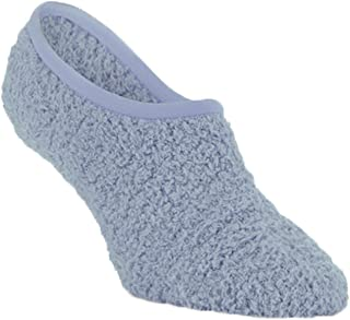 Super Soft Cozy Footsie Slipper Socks with Grippers - One Size Fits Most