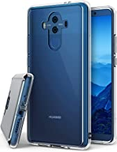 Ringke Fusion Compatible with Huawei Mate 10 Pro Crystal Clear Minimalist Transparent PC Back TPU Bumper Drop Protection Scratch Resistant Protective Cover Huawei Mate 10 Pro Case - Clear