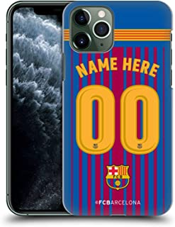 Custom Customized Personalized FC Barcelona Home 2017/18 Kit Hard Back Case Compatible for iPhone 11 Pro