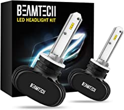 BEAMTECH 880 LED Headlight Bulb, 50W 6500K 8000Lumens Extremely Brigh 885 893 899 CSP Chips Conversion Kit