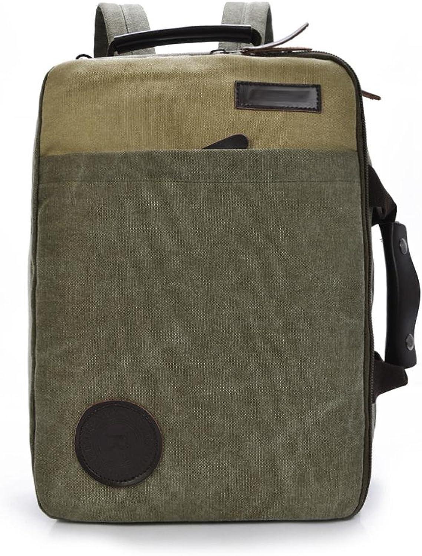 SZH&BEIB Unisexsegeltuch-Rucksack beilufige Art und Weise im Freien Travel Gear Schule oder Arbeit Laptop-Tasche