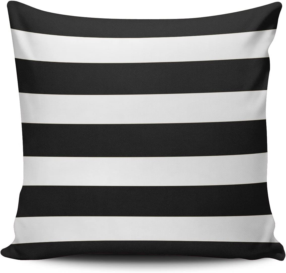 Hoooottle Custom Fancy 2021 autumn and winter Sale Special Price new Plush Black White Pillo Stripe Square