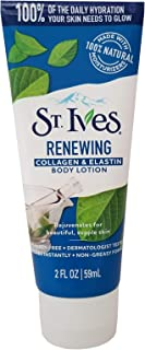 St Ives Collagen and Elastin Skin Renewing Moisture Body Lotion, Travel Size, 2 oz case of 24