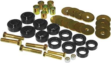 Prothane 7-139-BL Black Body Mount Kit with Hardware