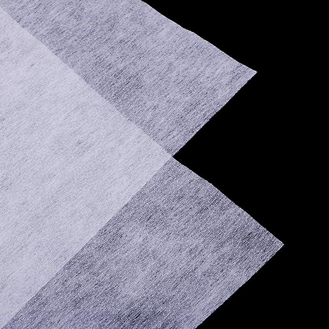 Entretela Adhesiva Interlining de Cuello de Camisa Uso para ...