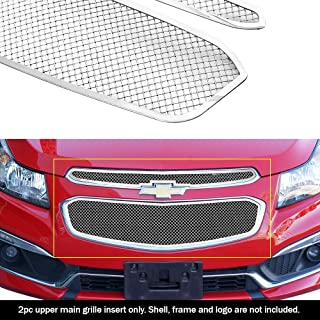 APS Compatible with 2015 Chevy Cruze Stainless Steel Mesh Grille Insert C76342T