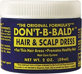 DON'T BE BALD Hair and Scalp Dress 2 oz