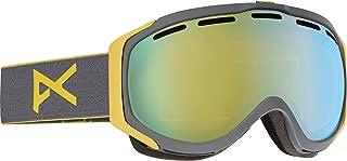 Anon - Mens Hawkeye Snow Goggles 2017, Gray/Gold Chrome