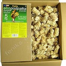 Pastillas - Encendedores de barbacoa Feniks unidades en la caja 500., para chimeneas, estufas, barbacoas y fogatas
