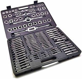 Moracle Máquina de Filtración 110 Piezas Conjunto Machos para Caja de Metal Acero de Tungsteno para hilo M2-M18