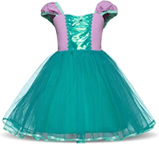 Cinderella Rapunzel Princess Girls Dress Fancy Party Costume