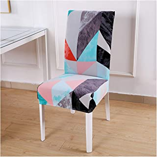 Toddor Dining Room Chair Cover Spandex Stretch Polyester Seat Cover Anti Dirty Chair Protective Case for Restaurant Wedding,Color 9,1 Piece