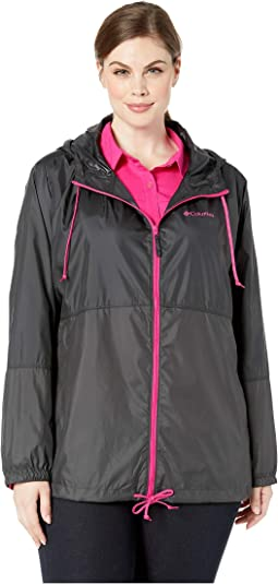 Plus Size Flash Forward™ Windbreaker