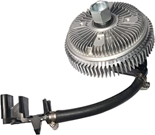 Electronic Radiator Fan Clutch with Harness - Compatible with Chevrolet, GMC & Buick Vehicles - Trailblazer 2002-2009, Env...