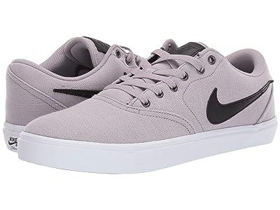 Nike SB Check Solar Canvas Premium (Atmosphere Grey/Black/Atmosphere Grey) Men