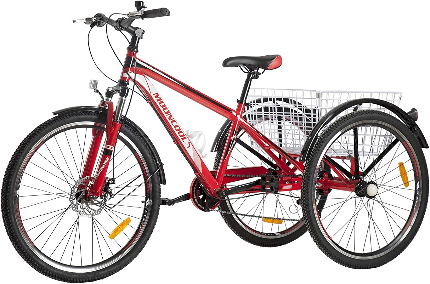 Naudacaa Adult Mountain Tricycle Challenge the lowest price of Japan Ranking TOP7 Three 7 Speed