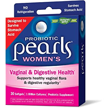 Nature's Way Probiotic Pearls Womens, 1 Billion Live Cultures, 30 Softgels