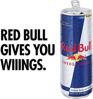 Red Bull Sugar Free, 8.4-Ounce Cans (Pack of 24)