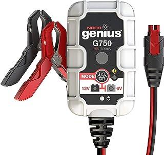 NOCO Genius G750EU 6V/12V,75 Ampères Chargeur de Batterie Intelligent et Mainteneur pour..