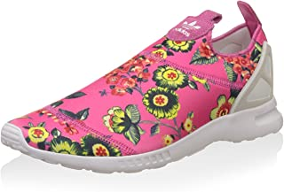 adidas Originals Women's Zx Flux Adv Smooth Slip On Trainers US8 Pink