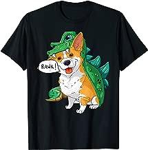 Corgi Dinosaur Dragon Costume Funny Dog Halloween Gift  T-Shirt