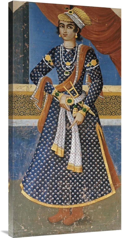 Global Galerie Budget gcs-265840–91,4–360,7 cm Mihr-Ali Portrait Of farrukh-siyar Galerie Wrap Giclée-Kunstdruck auf Leinwand Art Wand B01K1QI8AQ | Günstige Bestellung