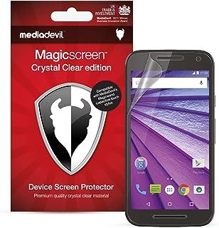 MediaDevil skyddsfolie för Motorola Moto G 3:e genen. (2015, 5 tum) – Crystal Clear (osynlig) [2 styck]