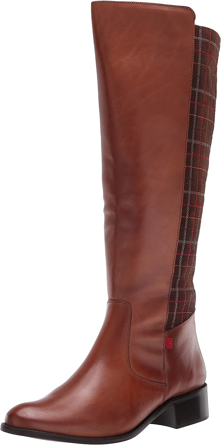 Marc San Antonio Mall Joseph New York Women's Leather Luxury Riding Factory outlet Boot High Top