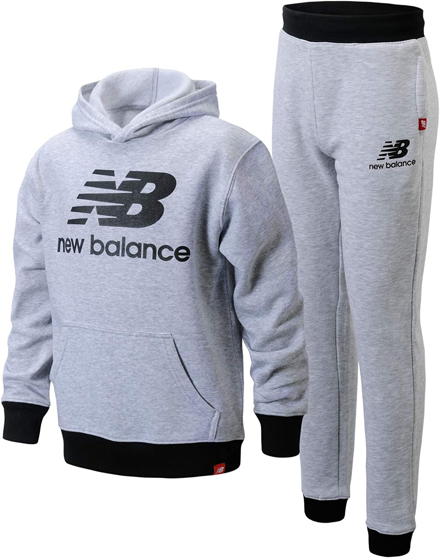 New Balance Boys' Jogger Set - 2 Piece Pullover Hoodie Sweatshirt and Sweatpants Activewear Set (Big Boy): Clothing, Shoes & Jewelry