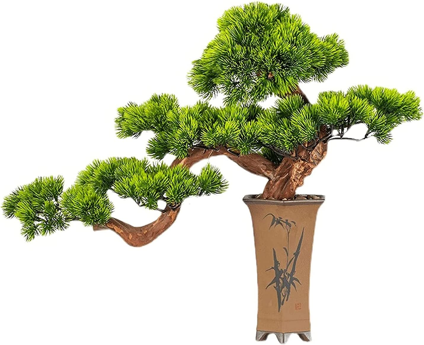DSWHM Artificial Sales for sale Bonsai Tree Simulation Potted Plant Decora Outlet ☆ Free Shipping DIY