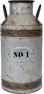 Best rustic milk can Reviews