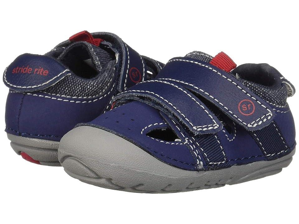 Stride Rite SM Elijah (Infant/Toddler) (Navy) Boys Shoes