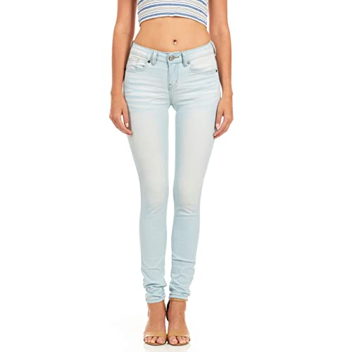 974073042d05c Cover Girl Plus Size Women s Mid Rise Slim Fit Stretchy Skinny Jeans