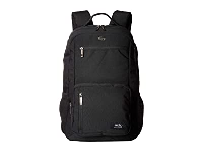 Solo New York Bowery Backpack (Black) Backpack Bags