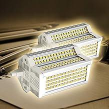2x R7S LED Lamp 220 Graden Dubbelzijdig 50W Dimbaar 118mm R7s Basis 3000K- 6000K Schijnwerper equivalent aan 500W Halogeen...