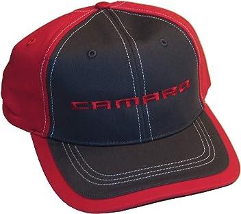 Gregs Automotive Camaro Hat Rally Stripe Cap Orange Black White Bundle with Driving Style Decal