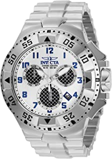 Invicta Men's Excursion Quartz Watch with Stainless Steel Strap, Silver, 30 (Model: 29720)