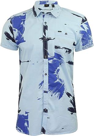 ONeill Camisa floral hawaiana para hombre