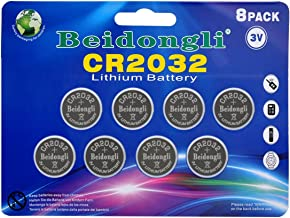 CR2032 3v Battery Button Lithium Battery for Watches Led Candles with 3 Years Warranty(8pack)