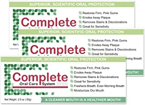Periactil's Complete Oral Care System - VALUE 3 PACK Advanced Xylitol Matrix: For Teeth, Gums, Dry Mouth, Sensivity, Stain Removal and Great Breath