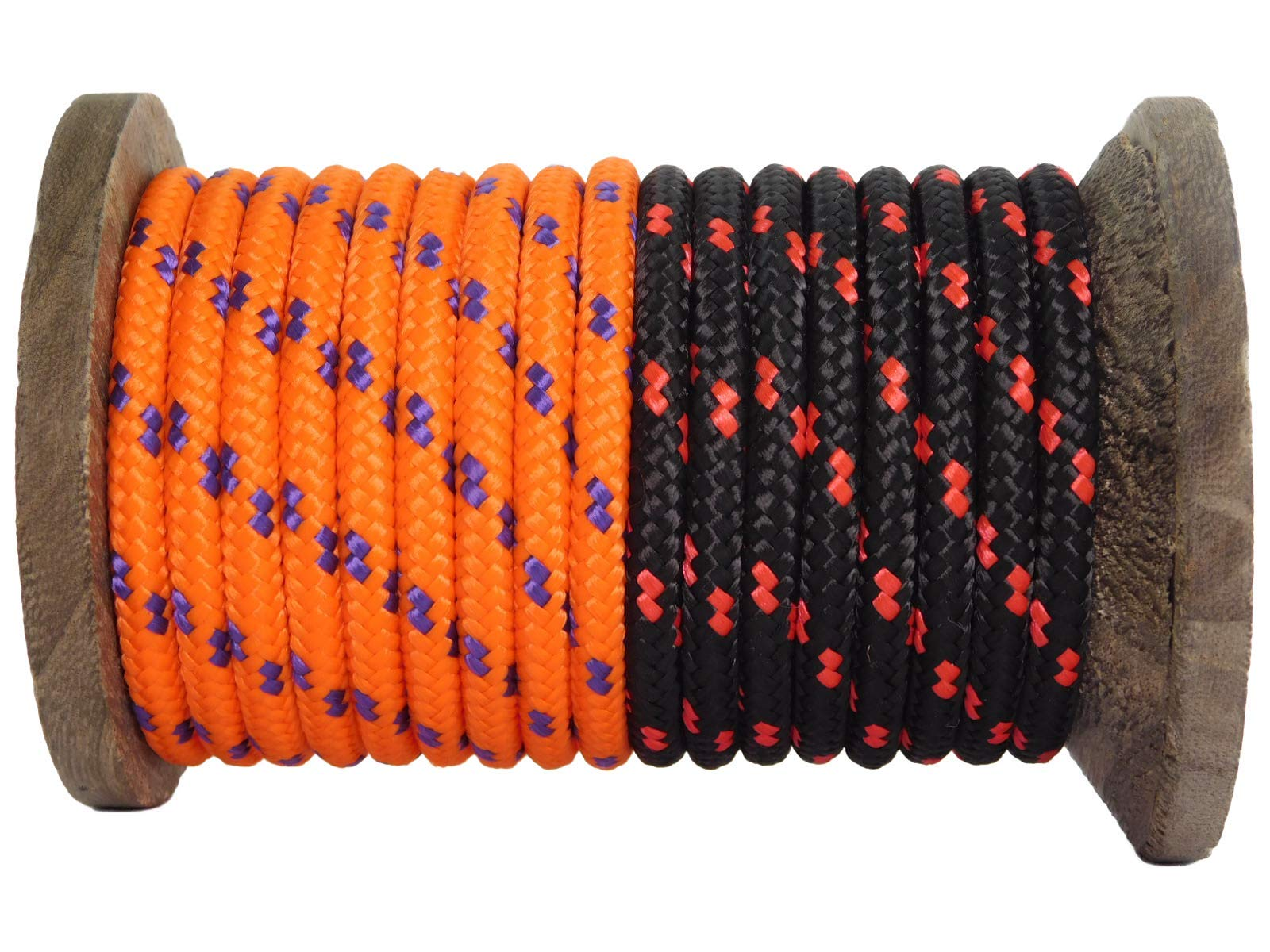 """Knot Tying Atwood Rope MFG Braided Utility Rope Flag Poles Halters Strong Versatile Rope for Camping DIY 1//4/"""" 100 ft Camo Made in USA Survival"""