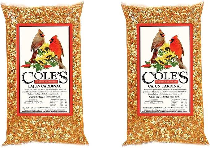 Coles BH05 Blazing Hot Blend Bird Seed 5 Pound 2 Pack
